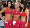Girl with muscle - Samantha Baker(left), Danny Johnson(center), & Hei