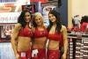 Girl with muscle - Samantha Baker(left), Danny Johnson(center), & Hei