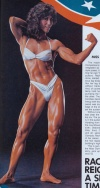 Girl with muscle - Rachel McLish