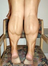 Girl with muscle - Calves